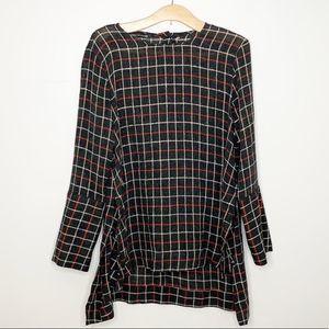 3/$30 Zara plaid tunic
